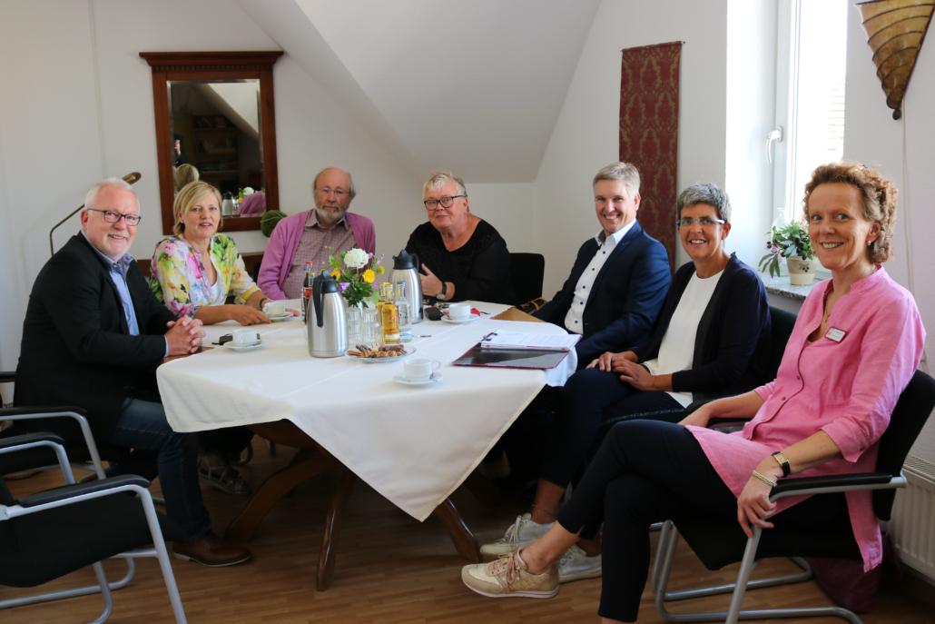 Treffen im Pflegeheim St. Annen Rosengarten